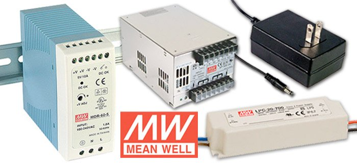 Competitive Pricing on Mean Well Power Supplies