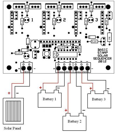 Solar Sequencer on wiring diagram solar panel
