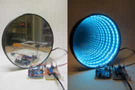 Arduino RGB LED Infinity Mirror Kit