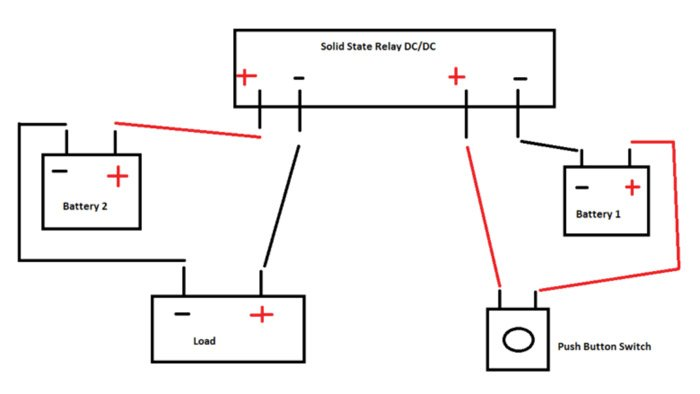 using solid state relay fig2 wiring a solid state relay
