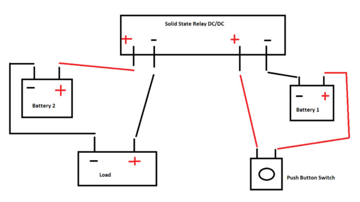 wiring a solid state relay rh jameco com solid state overload relay wiring diagram solid state relay circuits diagrams