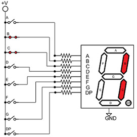 Working With Seven Segment Displays